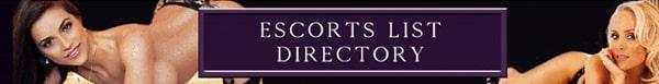 Escorts List Directory
